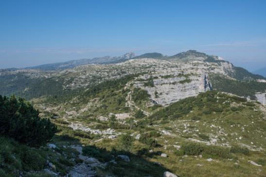 Monte Ortigara visto dalla Caldiera