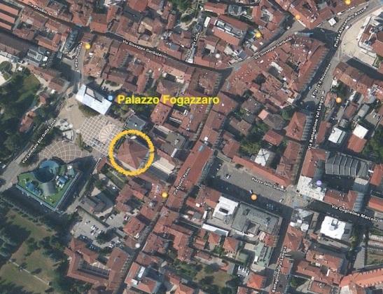mappa centro Schio