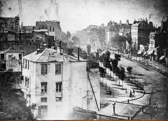 Daguerre_Boulevard du Temple 1838